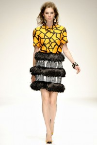 Holly Fulton LFW Runway