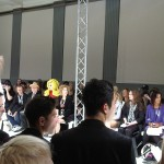 Pandemonia in LFW crowd at Romeo Pires