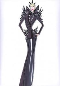 Lady Gaga by Giorgio Armani MTV 2010 VMAs