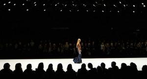 London Fashion Week Catwalk Crowd LFW