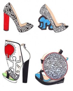 Nicholas Kirkwood for Keith Haring