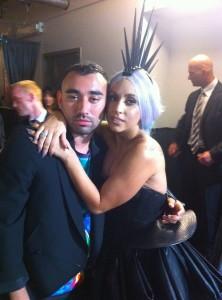 Nicola Formichetti and Lady Gaga
