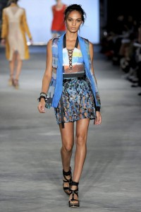 Rag and Bone Joan Smalls Runway NYFW