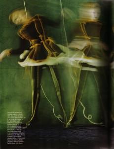 Russian Dolls Karlie Kloss Vogue UK