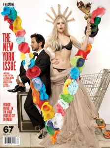 V Magazine New York Issue Cover Story by Mario Testino Cover