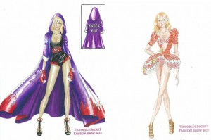 Victorias Secret Fashion Show 2010 Sneak Peak Sketches