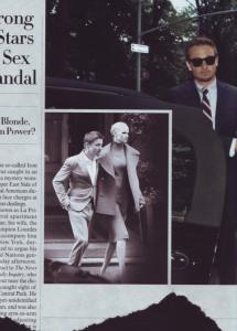 Vogue Dangerous Liaisons Lara Stone Jeremy Renner Steven Klein