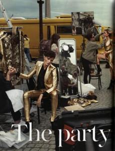 Vogue The Party Anja Rubik Isabeli Fontana Natasha Poly