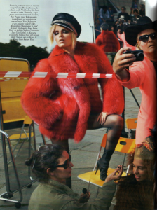 Vogue The Party Anja Rubik Isabeli Fontana Natasha Poly