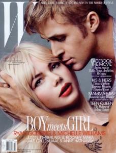 W Boy Meets Girl Ryan Gosling Michelle Williams Blue Valentine