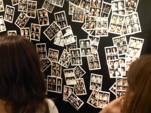 fashions night out wall at chanel
