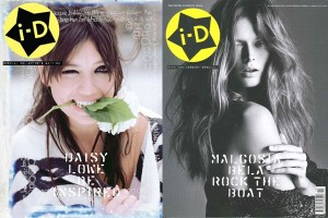 iD Magazine 30th Anniversary Daisy Lowe and Malgosia Bela
