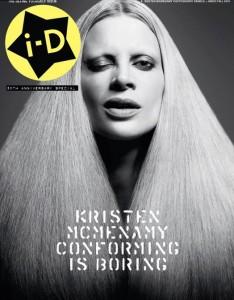 iD Magazine 30th Anniversary Kristen McMenamy