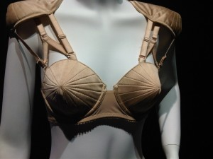 The Jean Paul Gaultier Bra with Shoulder Pads