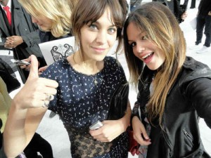 Alexa Chung Rachel Bilson Fashion Week Chanel