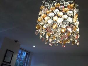 Sultry lighting in mybar Chelsea