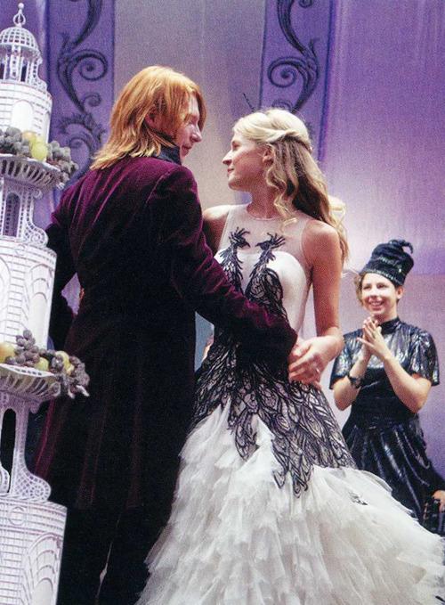 Harry potter fashion spoiler lela london travel food for Fleur delacour wedding dress