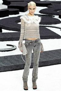 Chanel PFW Runway Britt Maren
