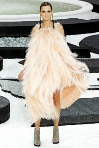 Chanel PFW Runway Carmen Kass