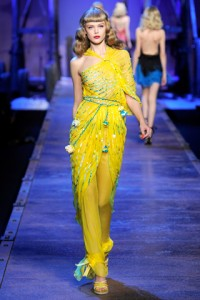Christian Dior Runway PFW Frida Gustavsson