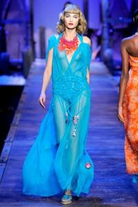 Christian Dior Runway PFW Laura Blokhina