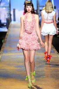 Christian Dior Runway PFW Maddie Kulicka