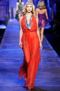 Christian Dior Runway PFW Maryna Linchuk
