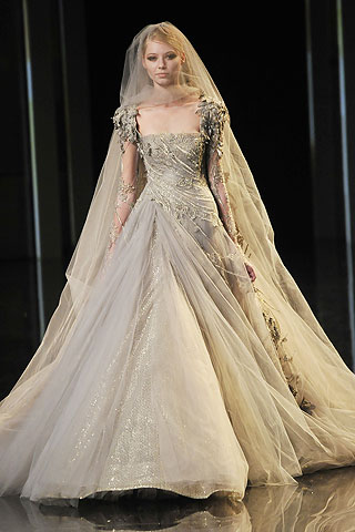 lace wedding dress with sleeves. Well, alleged dress.