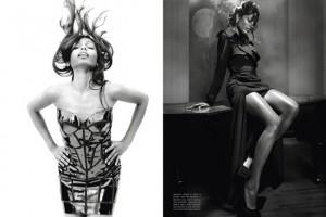 Freida Pinto Vogue Italia Lorenzo Bringheli