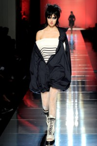 Jean Paul Gaultier PFW Runway Lindsey Wixson