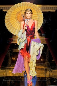 John Galliano PFW Runway