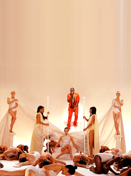 kanye west power video. Kanye West is set to wow us