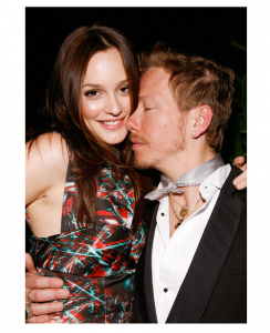 Leighton Meester and Eric Daman