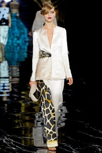 Louis Vuitton PFW Runway Arizona Muse