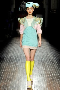 Manish Arora PFW Runway So Young Kang