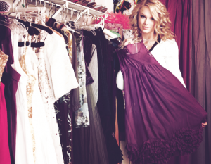 Taylor Swift Wear Purple
