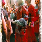 Backstage at Meadham Kirchhoff London Fashion Week Spring/Summer 2011