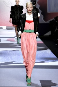 Viktor and Rolf PFW Runway Delfine Bafort