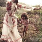 Vogue Paris Un dimanche a la campagne Sasha Pivovarova