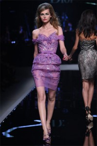 Wear Purple Resort 2011 Christian Dior