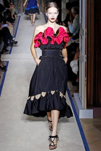 Yves Saint Laurent PFW Runway Mirte Maas