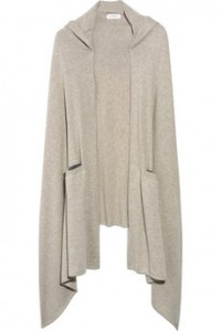 Chinti and Parker Cashmere Hooded Cape