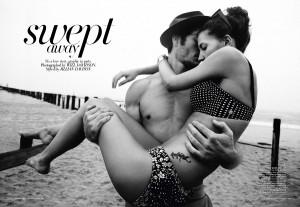 Swept Away Harpers Bazaar Will Davidson Diana Dondoe