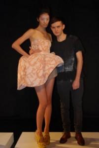 William Tempest Oyster Dress Rihanna