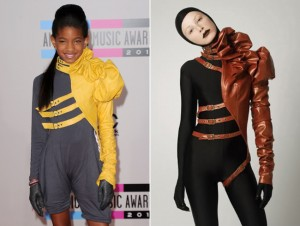 Willow Smith Designer Rip Off