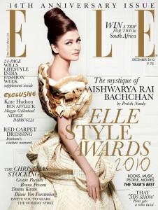 Aishwarya Rai Elle Magazine White