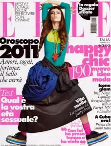 Coco Rocha Elle Italia Italy