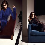 Julia Restoin Roitfeld Tom Ford V Magazine
