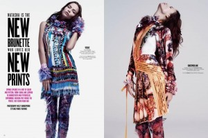 Natasha Poly Willy Vanderperre V Magazine Prints 2011