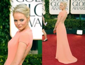 Emma Stone Golden Globes 2011